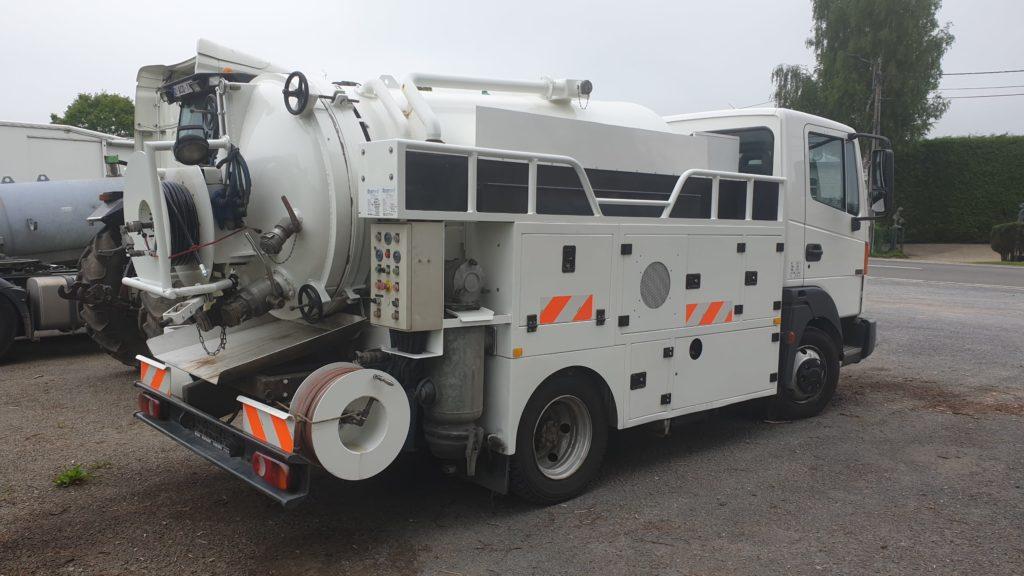 Mini camion vaccum